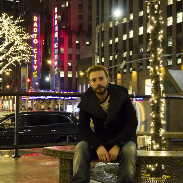 Danny in Manhattan (New York). Portrait by Chris Meadows