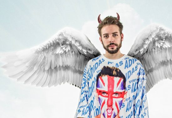 "Evil Angel Danny for alternative ""Schizophonic"" cover"