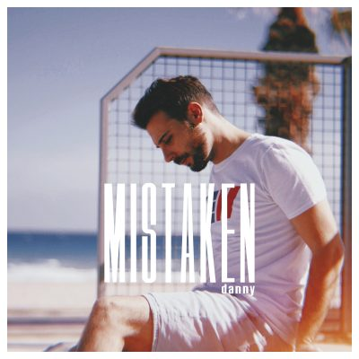 "Front cover of Danny's single ""Mistaken"""