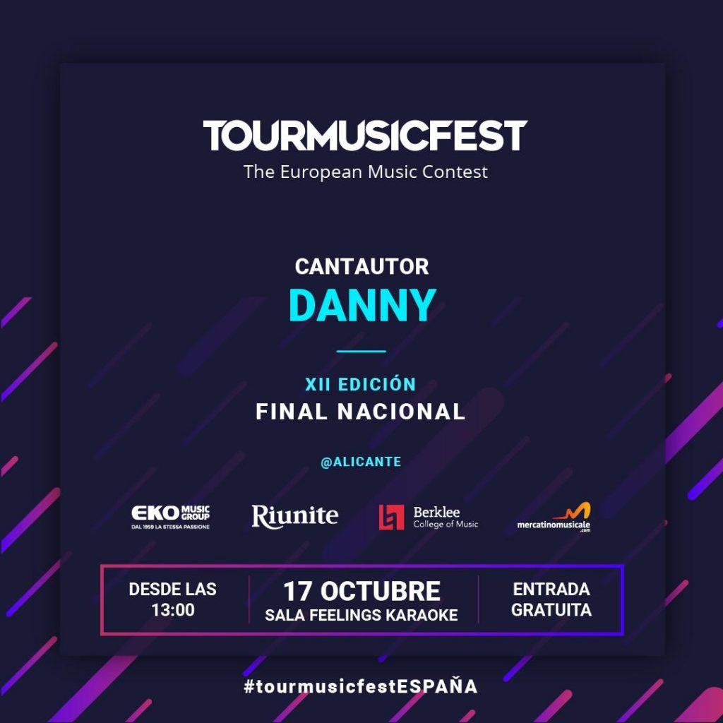 Danny - Tour Music Fest 2019 - Semifinal - Alicante