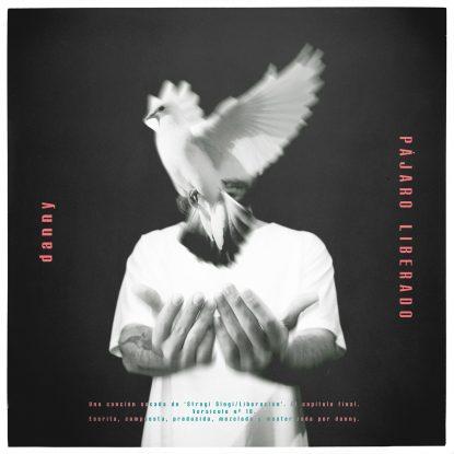 """Portada del nuevo single e Danny, """"Pájaro Liberado"""""""